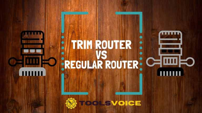 difference between trim router and regular router